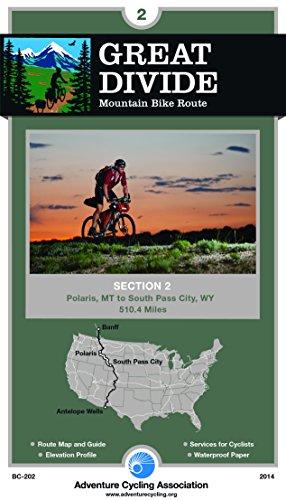 Great Divide Mountain Bike Route #2: Polaris, Montana - South Pass City, Wyoming (510 Miles)