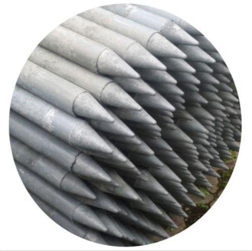 10er Pack Rundpfosten für Randband für Gartenteich Teichbau Pfosten Pfahl
