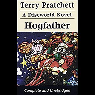 Hogfather audiobook cover art