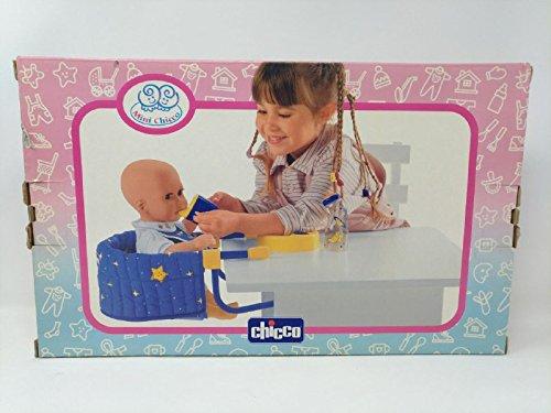Chicco SEGGIOLONE GIOCO TAVOLO BLAU MIT Stelle, DIC-67211