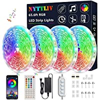 Nyttliv 65.6ft/20m Color Changing Smart LED Strip Lights