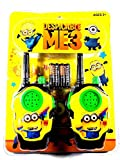 Despicable me 3 walkie Talkie Toys for Kids +3 Years