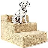 Animals Favorite - Escalera para mascotas, 3 peldaños, para perros, portátil, hasta 9 kg