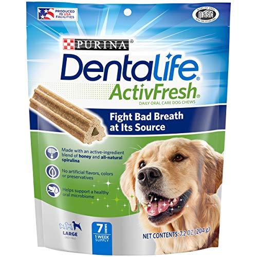 Purina DentaLife Large Breed Dog Dental Chews, ActivFresh
