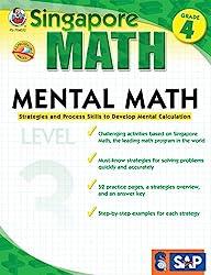 Mental Math, Grade 4: Strategies and Process Skills to Develop Mental Calculation