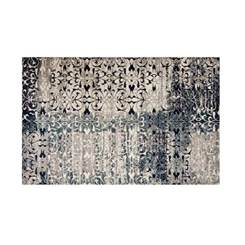 LXXTI traditioneel klassiek tapijt, 160x120cm, Perzisch Oosterse Heriz Keshan patroon ornamenten - onderhoudsvriendelijk 1