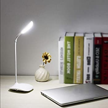 Buy Cloudmart Rechargeable Led Desk Light With Twisted Tube Usb Charging Cycle Charge Led Lighting Touch Sensor Switch 3 Level Adjustable Brightness Table Lamp For Study Online At
