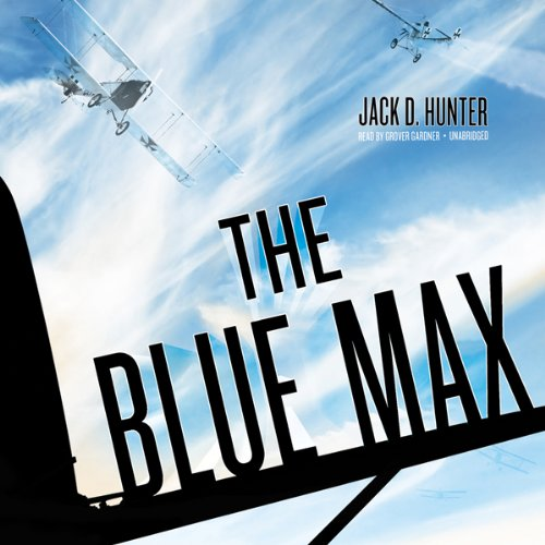 The Blue Max audiobook cover art