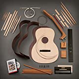 StewMac Build Your Own Triple-O Acoustic Guitar Kit with Indian Rosewood Back & Sides, Sitka Top, Bolt-on Neck