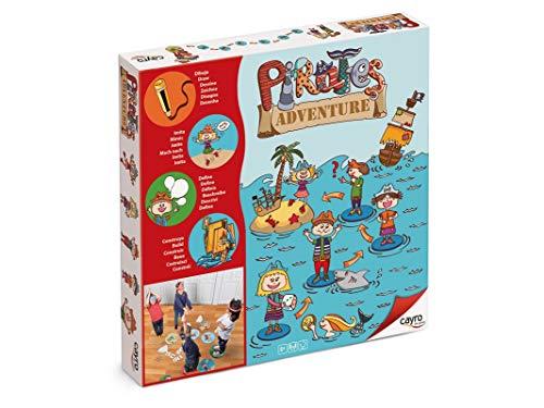 Cayro - Pirates Adventure - Juego Infantil - Desarrollo de la expresión Corporal y coordinación- Juego de Suelo (871)