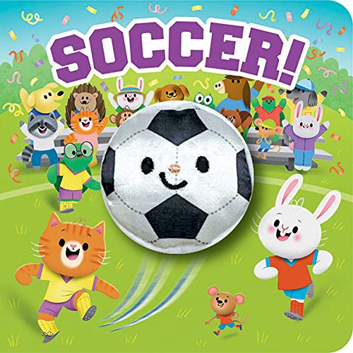 Soccer! (Children's Interactive Finger Puppet Board Book)