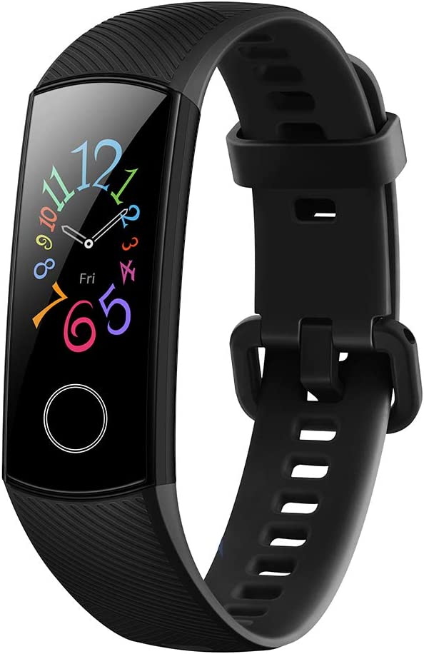 Docooler Honor Band 5 Smart Bracelet Watch Faces Smart Fitness Timer Intelligent Sleep Data Real-Time Heart Rate Monitoring 5ATM Waterproof Swi