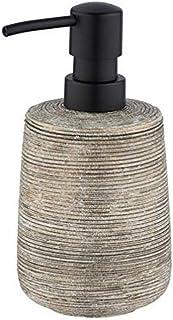 Wenko Fedio Liquid Soap Dispenser 0.4 L, 8.5 x 17 x 8.5 cm, Gold