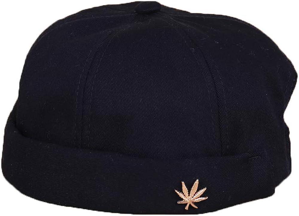 4UFiT Unisex Brimless Arlington Mall Beanie Hat Sailor Rolled Cap Classic Adjustable Cu