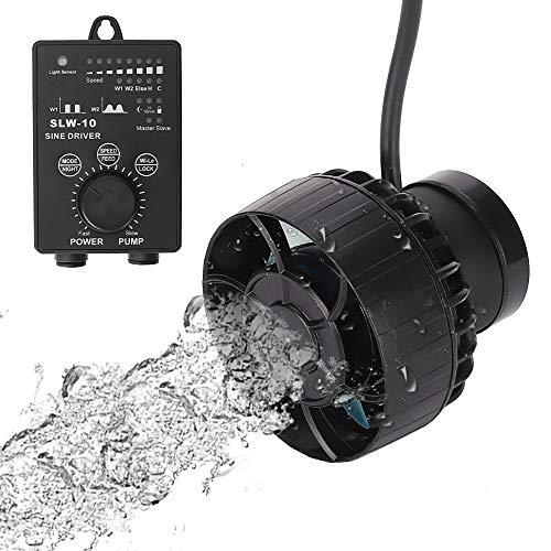 METIS SLW10 ウェーブポンプ 水流ポンプ 水中ポンプ 水槽ポンプ アクアリウム ワイヤレス 回転式 水槽循環ポンプ WIFI 強力 安定 波メーカー 淡水 海水 マグネット吸盤 (SLW10(4000L/H), WIFIアプリ機能無し)