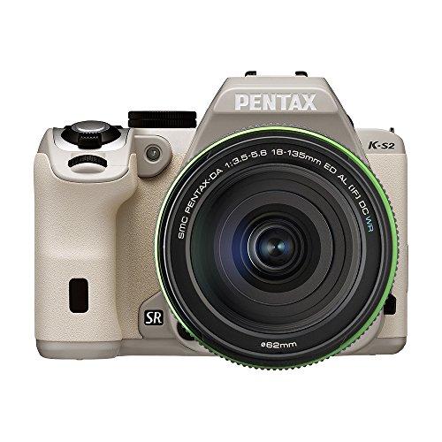 PENTAX デジタル一眼レフ PENTAX K-S2 DA18-135mmWRレンズキット (デザートベージュ) PENTAX K-S2 DA18-135mmWRKIT (DESERT BEIGE) 13258
