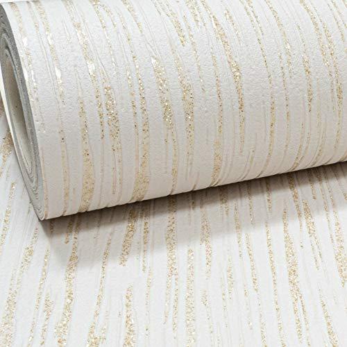 Embossed Plain Glitter Blown Vinyl Textured Thick Wallpaper for Living...