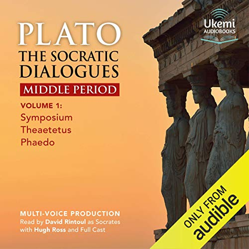 The Socratic Dialogues Middle Period, Volume 1 audiobook cover art