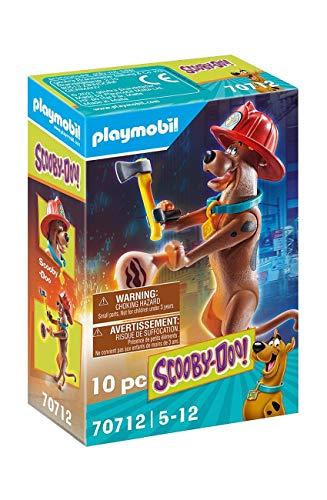 PLAYMOBIL SCOOBY-DOO! 70712 Scooby vigile del fuoco, Dai 5 anni