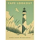 N/P Filmplakat Outer Banks Poster Leinwand Papier Vintage
