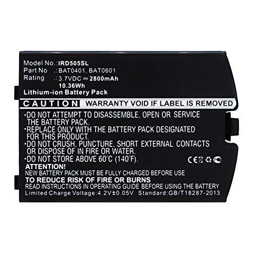 subtel® Qualitäts Akku kompatibel mit Iridium 9505A - BAT0401, BAT0601, BAT0602 (2800mAh) Ersatzakku Batterie