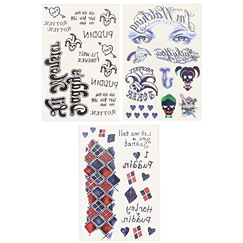 51Vyk0EvWRL Harley Quinn Tattoos
