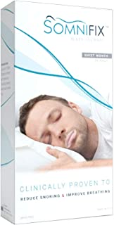 Sleep Strips by SomniFix - Advanced Gentle Mouth Tape for Nose Breathing, Nighttime Sleeping, Mouth Breathing, and Loud Sn...