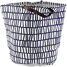 Dirty Clothing Laundry Basket Decoration Nursery Children Toys Can Stand Canvas Storage Bag Bearing 1.5 KG Organizer