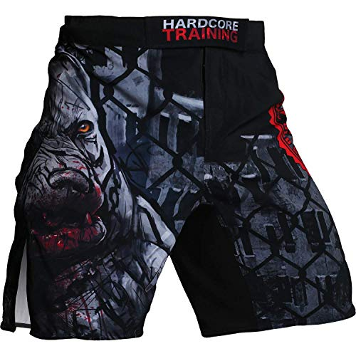 Hardcore Training Pitbull City Fight Shorts Hombre