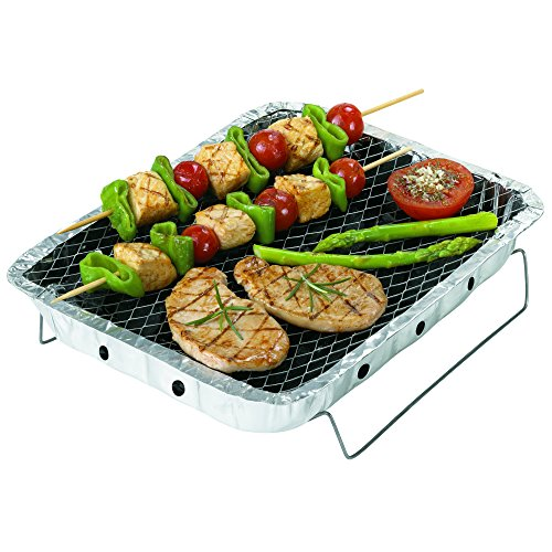 Rayen - Barbecue portable et jetable de 15 cm