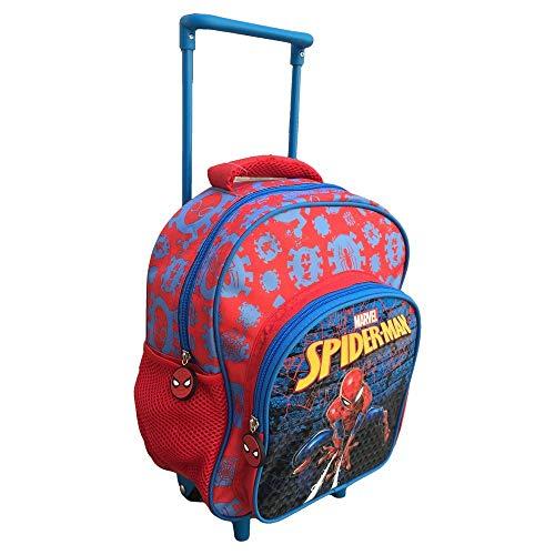 mc Rucksack Digit Premium Spiderman Rucksack, 30 cm, Rot/Blau