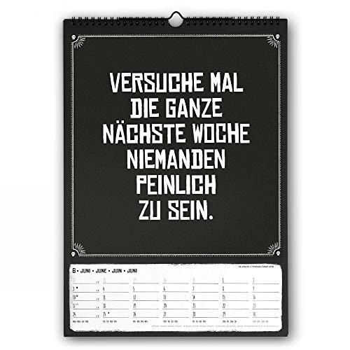 Pechkeks 2020 - Wandkalender - Humorkalender - 29,7x42cm - Sprüchekalender