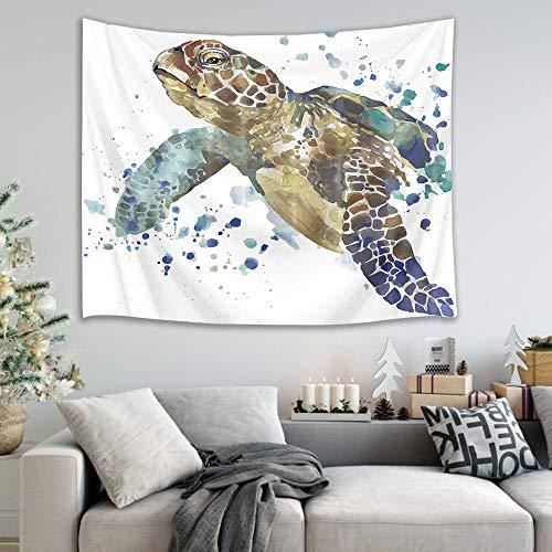 mmzki Tigre/león/Mapache/Gato/pingüino/Caballo/Tapiz de Toalla de Playa decoración del hogar 9 150x100cm