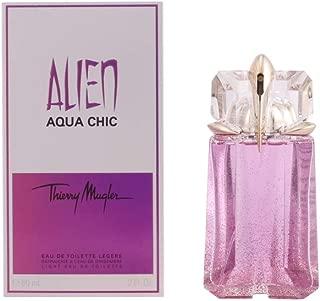 Thierry Mugler Alien Aqua Chic Light Eau de Toilette Spray for Women, 2 Ounce