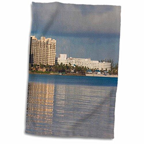 "3D Rose Bahamas - New Providence - Nassau - Resort Hotels - Ca05 Wbi0439 - Walter Bibikow Towel, 15"" x 22"""