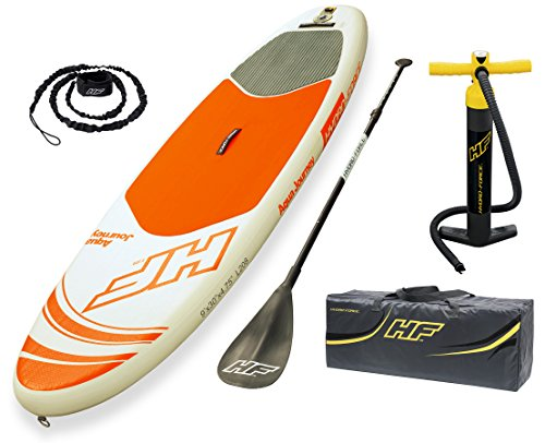 Bestway 65302 Tavola da SUP Gonfiabile Hydro-Force Acqua Journey Unisex Adulto, 305 x 84 x12 cm