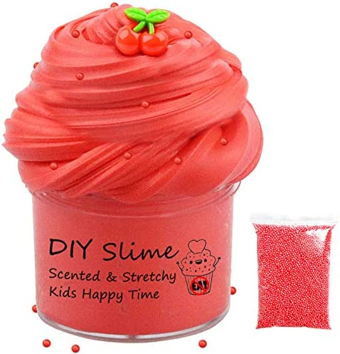New 12 Pack Slime Kit with Light Fruit Scent, Fruit Slime,Candy Slime, Mermaid Slime, Super Soft Novelty Sensory and Tactile Stimulation Putty Toys for Girls Boys Party Favors,Stress Relief, Prize.