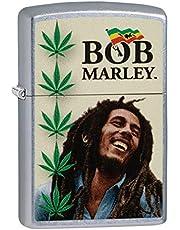 Zippo Classic Lighter-Bob Marley, messing, individueel design, originele zakmaat