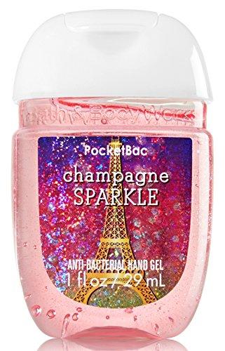 Bath & Body Works PocketBac Hand Gel Sanitizer Champagne Sparkle 2016
