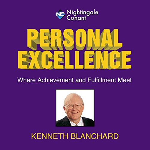 Personal Excellence audiobook cover art