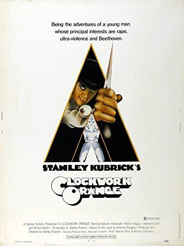 Uhrwerk Orange - A Clockwork Orange: A (1972) | US Import Filmplakat, Poster [68 x 98 cm]