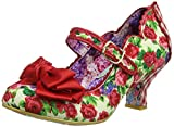 Irregular Choice Damen Summer Breeze Mary Jane Halbschuhe, Rot (Red Floral G), 38 EU