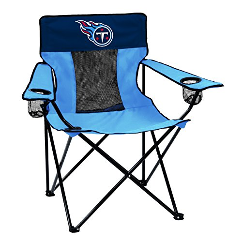 Logo Brands Officially Licensed NFL Tennessee Titans Unisex Elite Chair, One Size, Team Color