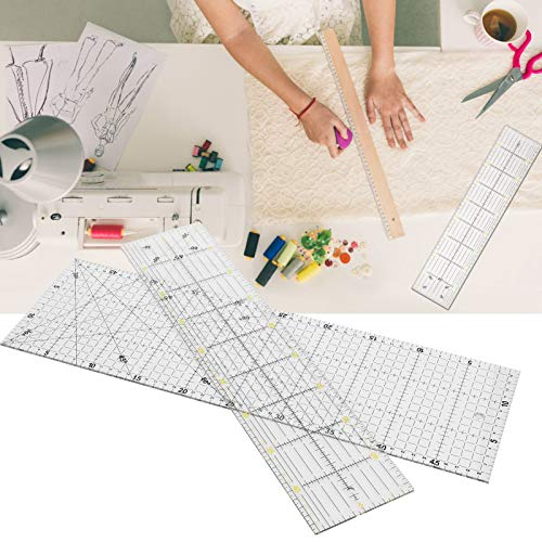 frenma Regla de Acolchado, Reglas de Costura, Regla de Medida Artesanal para medir el Dibujo