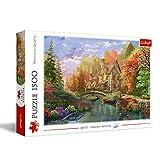 Puzzle 1500 Chatka nad jeziorem