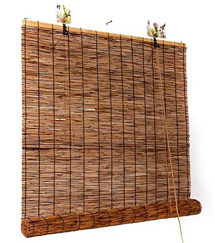 seveni Persianas De Bambú, Cortinas De Caña De Sombra, Cortinas De Estilo Vintage, Muebles Orientales, Prueba De Agua Anti Aorrosiva, Persianas(120x200cm/47x79in)
