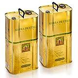 Sierra de Utiel - Aceite de Oliva Virgen Extra Premium - 2 x Lata de 5 litros - Producto Natural Origen España