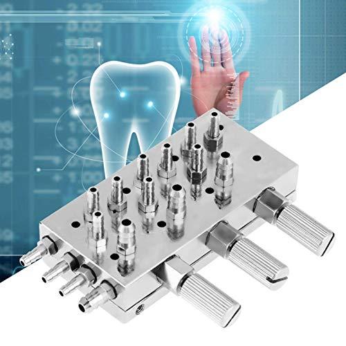 Válvula de control dental Válvula oral 3 en 1 segura y sanitaria para sillón dental de múltiples vías