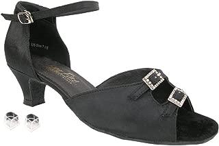 "Very Fine Ladies Women Ballroom Dance Shoes EK1620 with 1.3"" Heel"