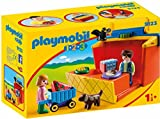 PLAYMOBIL 1.2.3- Mercado Maletín, única (9123)